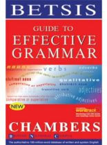 Guide To Effective Grammar Chambers new edition