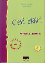 C'est Clair 1 - Livre du Professeur