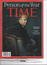 Time Magazine 2016 Donald Trump, President of the Divided States of America