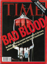 Time, 1993,  Bad Blood, Aids,Billy Graham, A Christian in Winter