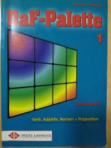 DaF-Palette 1: Verben, Adjektive und Nomen mit Präposition GRUNDSTUFE