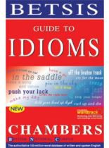 Guide To Idioms Chambers new edition