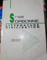 1st Degre Sorbonne Literature Civilisation