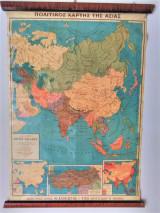 Πολιτικός χάρτης της Ασίας