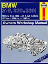 B. M. W. 316, 320 and 320i 1975-83 Owner's Workshop Manual (Service & repair manuals)