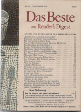 Das Beste aus Readers Digest November 1979 Nr. 11