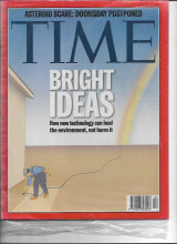 Time Magazine 1998 Bright Ideas, Asteroid Scare: Doomsday Postponed