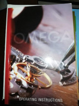 Omega Operating Instructions Manual Booklet Genuine User Guide