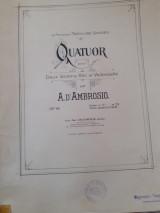 Quatuor a.d ambrosio