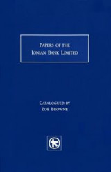 Papers of the Ionian Bank Limited