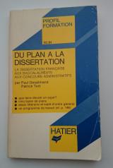 Du plan à la dissertation
