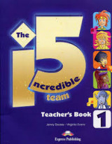 The 5 Incredible team (Teacher's Book)