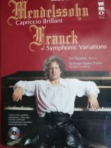 Mendelssohn capriccio brillant frank symphonie variations