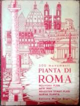 500 Monumenti Pianta di Roma (χάρτης)