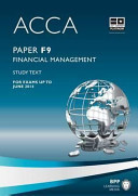ACCA Paper F9, Financial Management