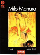 Milo Manara Storie brevi #2 (περιοδικό Free)
