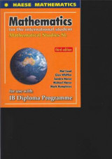 Mathematics for the International Student