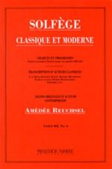 Solfege - Classique Et Moderne (volume 3)