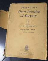 Short practice of surgery 20th edition