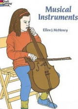 Musical Instruments Coloring Book