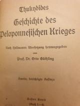 Thucydides' Geschichte des Peloponnesischen Krieges