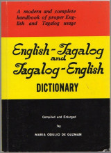 An English-Tagalog and Tagalog-English Dictionary
