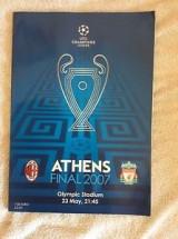Επίσημο πρόγραμμα τελικού Champions League 2007  (official program Champions league final 2007)