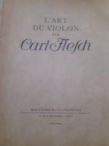 L art du violon carl flesch
