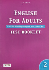 English For Adults Test Booklet 2