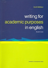 Writing for Academic Purposes in English