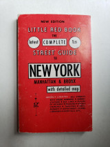 Little Red Book: The Complete Street Guide to New York (Manhattan and Bronx) (New Edition)