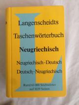 Langenscheidts Taschenwörterbuch der neugriechischen und deutschen Sprache