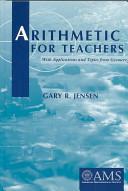 Arithmetic for Teachers
